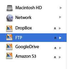 FTP Client for Mac screenshot.