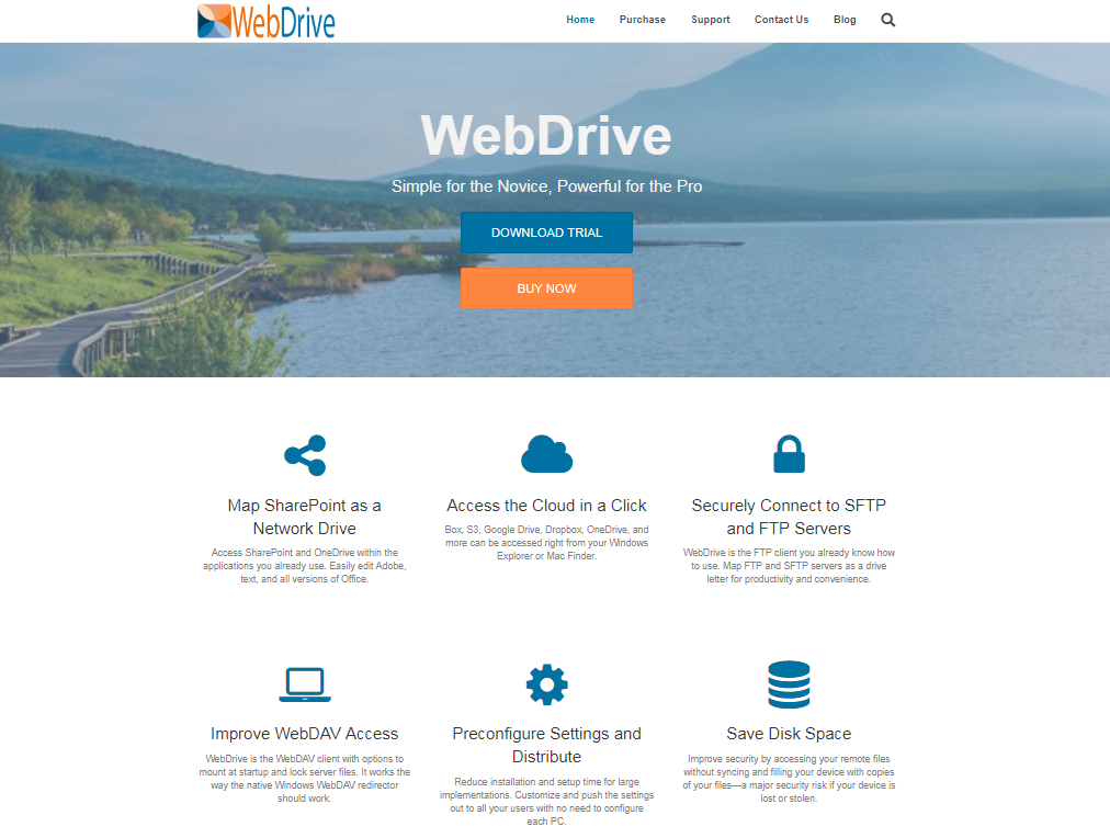 Map a drive letter to Dropbox with WebDrive